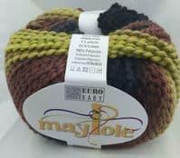 Euro Baby MAYPOLE CHUNKY Knitting Yarn Wool 100g - 32 Hayride
